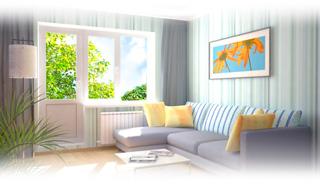 С пластиковыми окнами уютно и светло