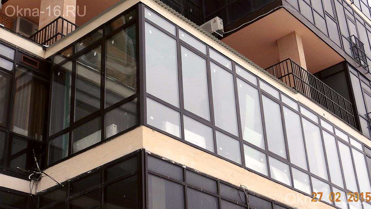 Алюминиевые окна - купить в казани.